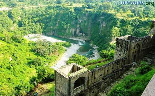 Historic kangra fort Himachal Pradesh